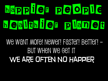 Happier People, Healthier Planet – March 19th