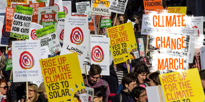 Climate Change March – Sunday 29th Nov
