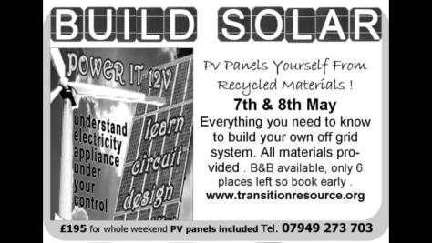 make solar panels